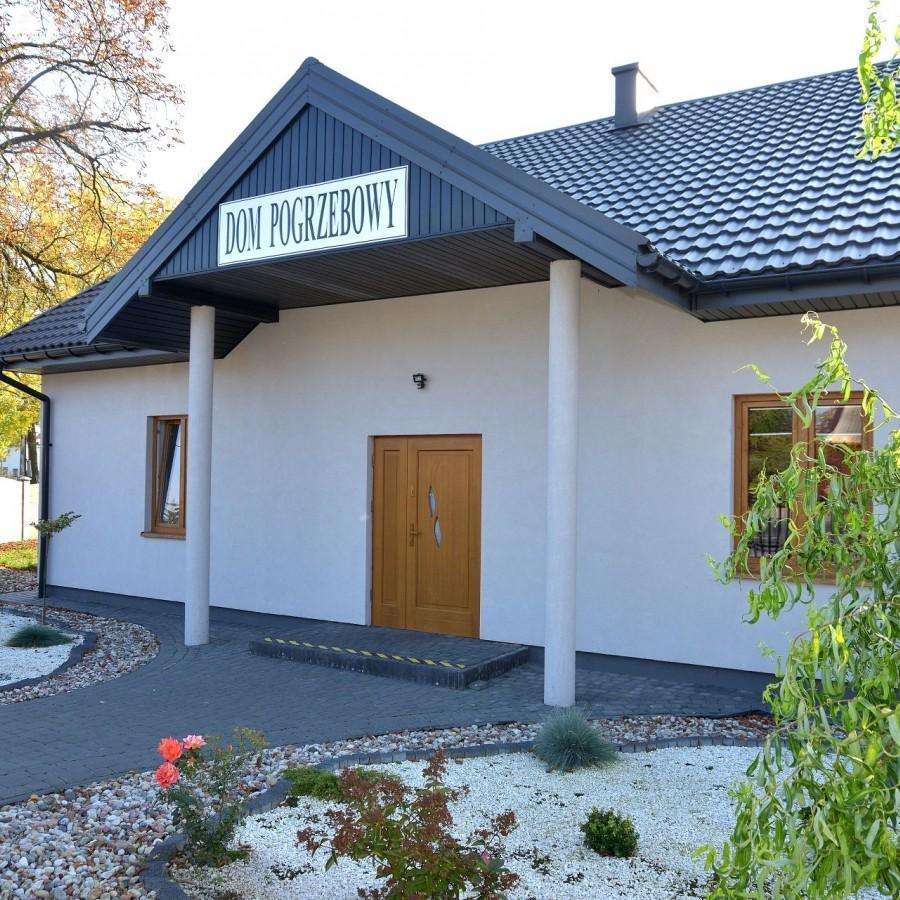 dom pogrzebowy w Bielsku