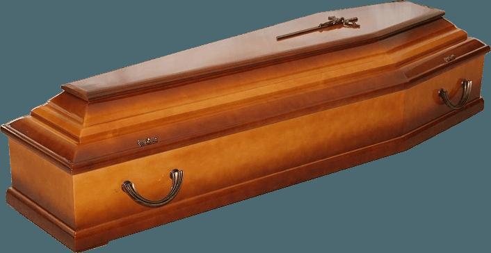 trumna sosnowa WZÓR 103A - CIEMNE CIENIE