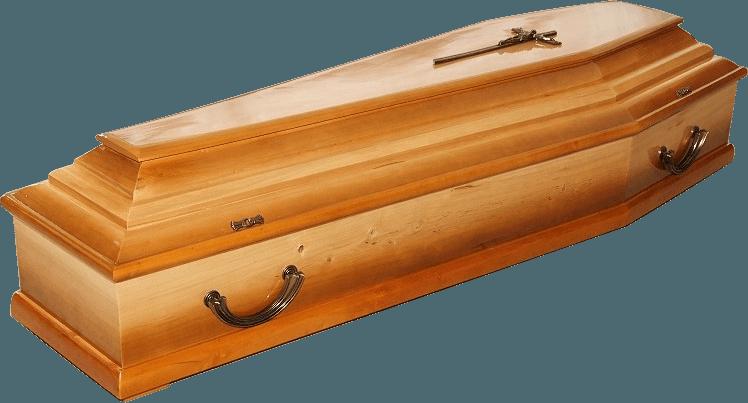 trumna sosnowa WZÓR 103A - JASNE CIENIE